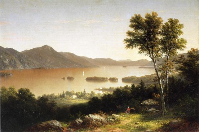 Lake George 1857 | John W. Casilear