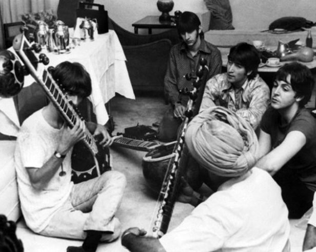 The band studies Indian music.